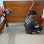 nieuwe bedden worden gemaaktnieuwe bedden worden gemaakt