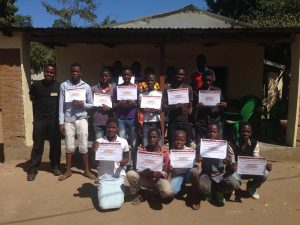 Halt project Diploma-uitreiking