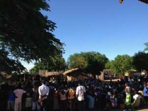 Halt project Malawi Community activiteit Nchalo