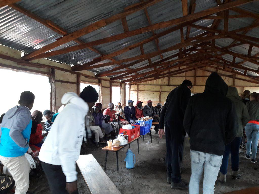 inwijdingsfeest van de eetzaal/multifunctionele ruimte
